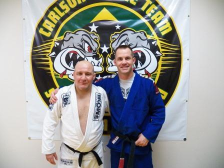 Carlson Gracie Jr and Alan Stockman