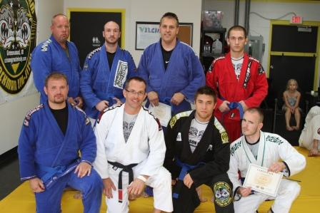 8 New Blue Belts!