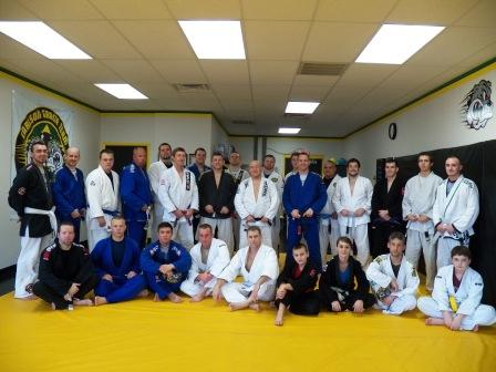 Carlson Gracie Jr Seminar Group Pic