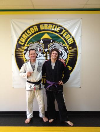 Indianapolis Jiu Jitsu purple belt