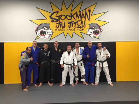 8 Black Belts in attendace