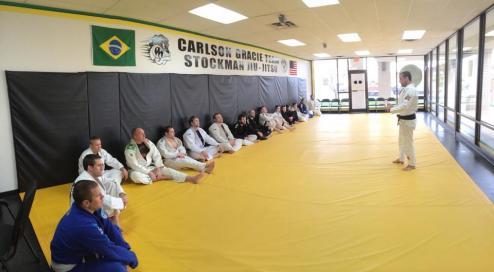 Luis Heredia, Brazilian Jiu Jitsu Seminar, Stockman Jiu Jitsu